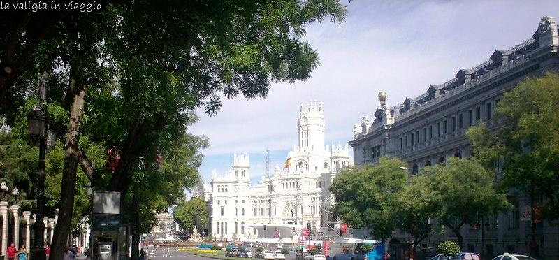 Madrid, Plaza de Cibeles, Palacio de la Comunicaciones