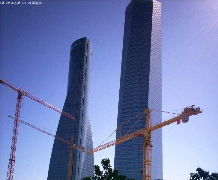 Madrid, grattacieli