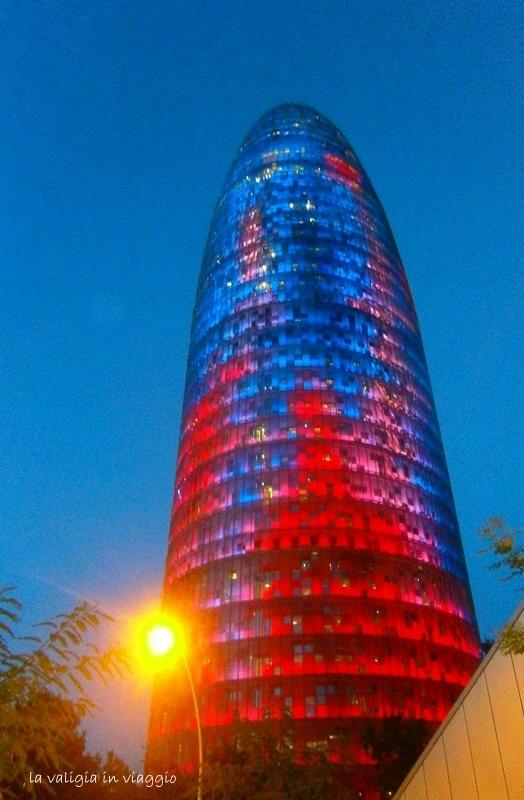 Barcellona, torre Agbar