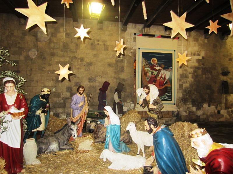 Santa Claus in Bari
