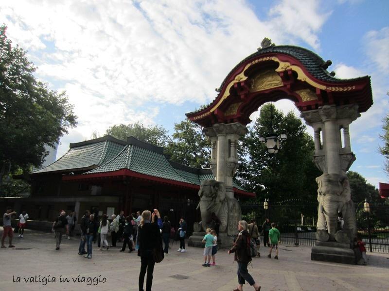 Porta dell' Elefante di Zoologisher Garten