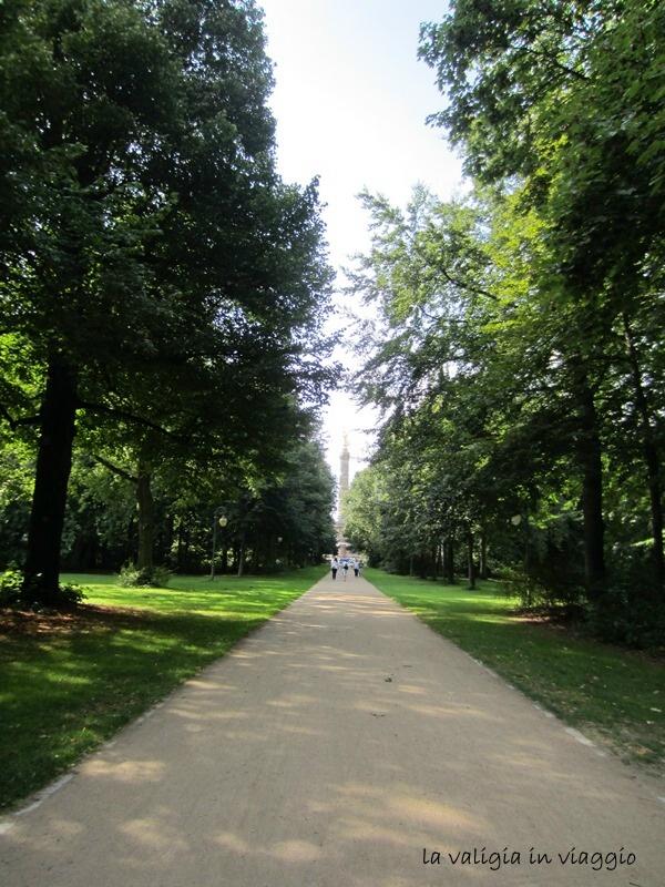 Tiergaten, verso la Colonna Trionfale di Berlino