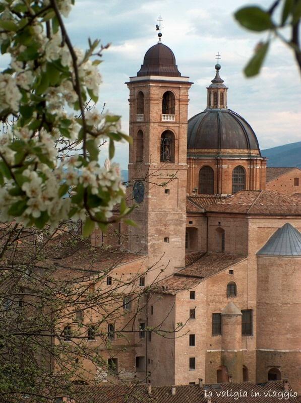 Urbino in una foto, tra le altre, del Signor Vittorio, il papà della mia amica Sveva, nonché ottimo fotografo!