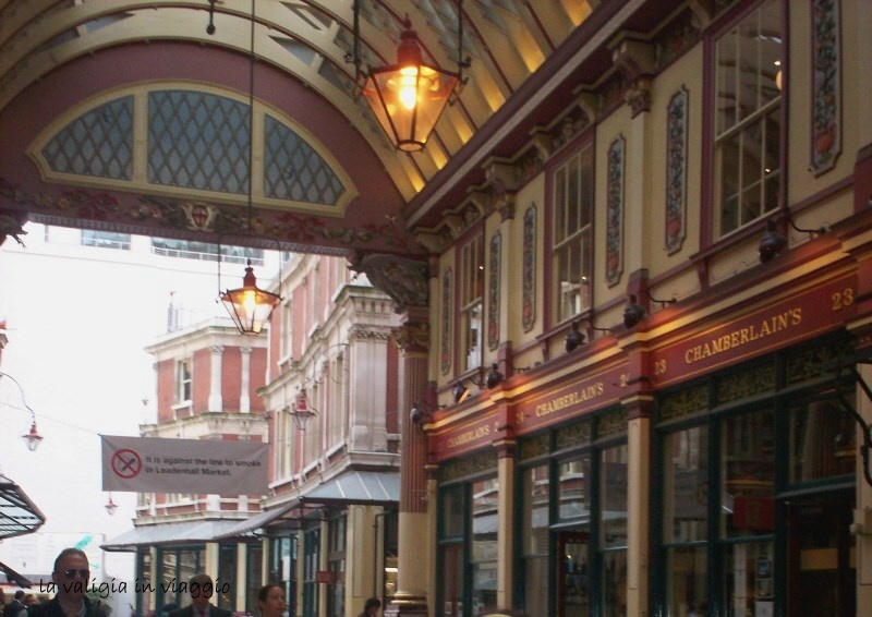 Mercato Vittoriano di Leadenhall Market, Londra