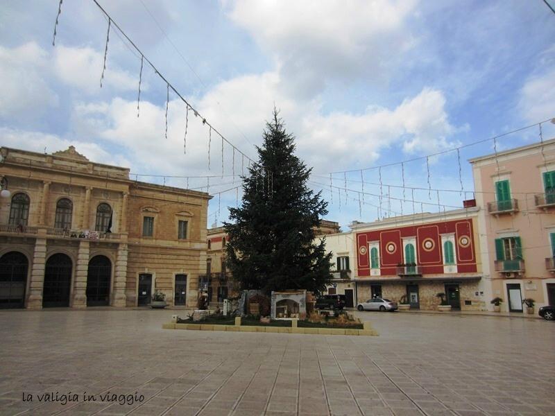 La piazza di Fasano