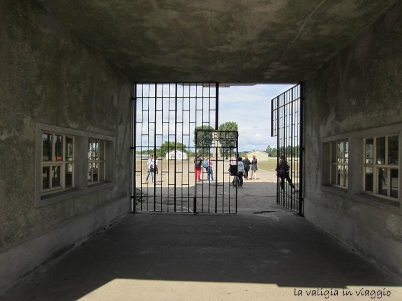Il cancello d'ingresso di Sachsenhausen