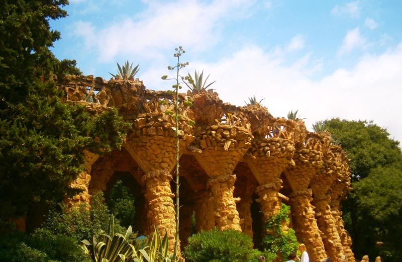 Gaudì, Dettagli di Parc Güell