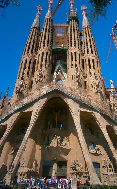 Sagrada Familia, Facciata della Passione