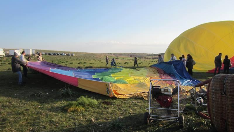 Le mongolfiere dell'Associazione Murgiamadre (food.culture.territory), di Matera