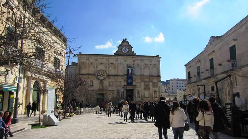 Piazzetta Pascoli, Matera