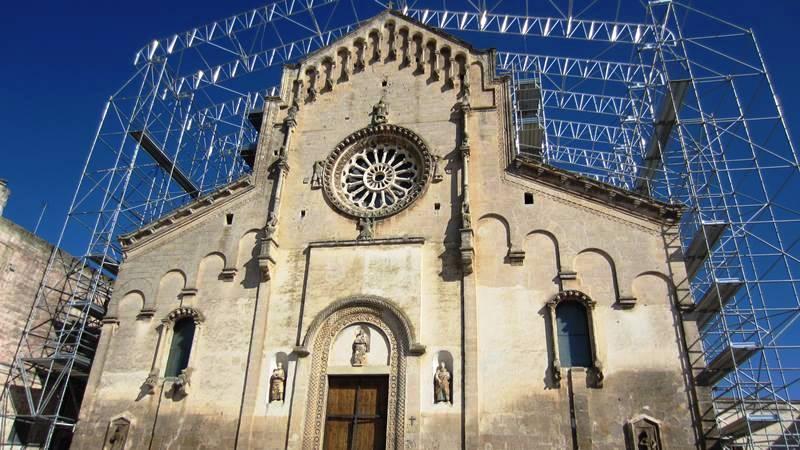 La cattedrale della Madonna della Bruna e di Sant'Eustachio