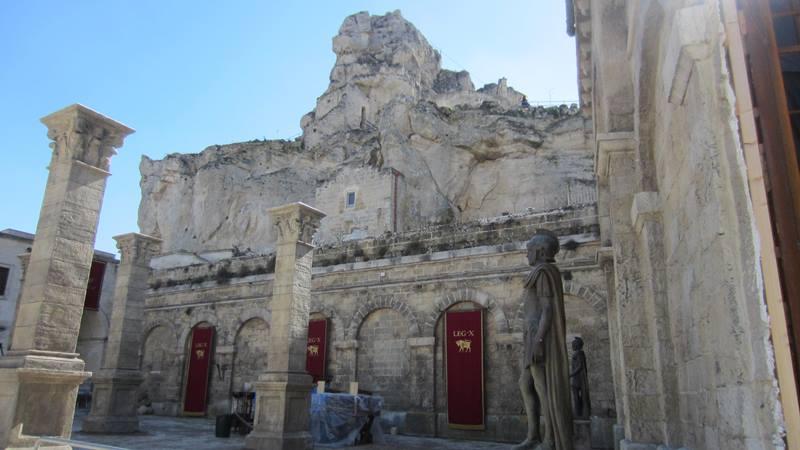 """Le scenografie del Kolossal """"Ben Hur"""" a Matera"""