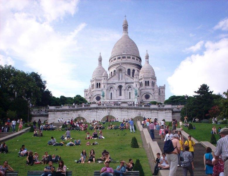 Paris, Basilique du Sacré Cœur de Montmartre