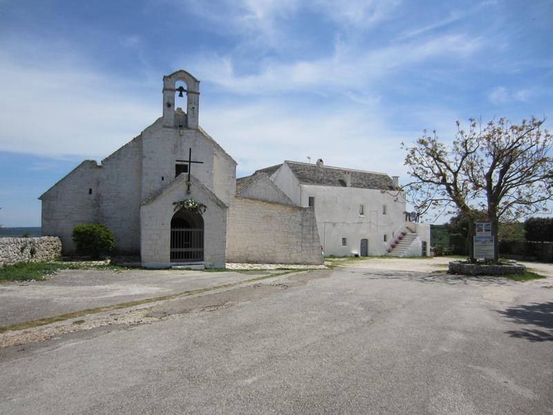 La piccola Chiesa di Barsento, tra Noci e Putignano, in Puglia