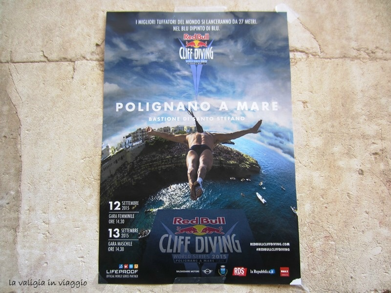 Red Bull Cliff Diving a Polignano, Italy
