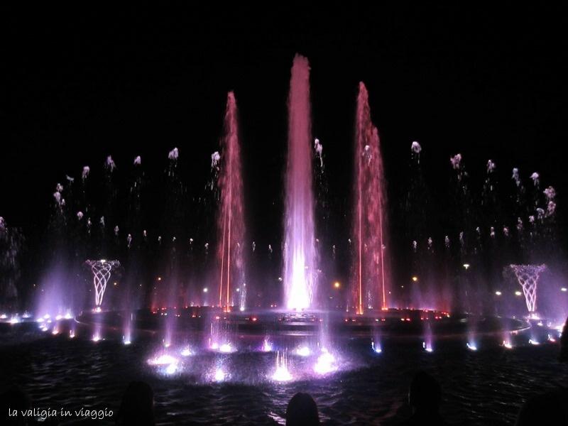La Fontana sull'isola di Budapest
