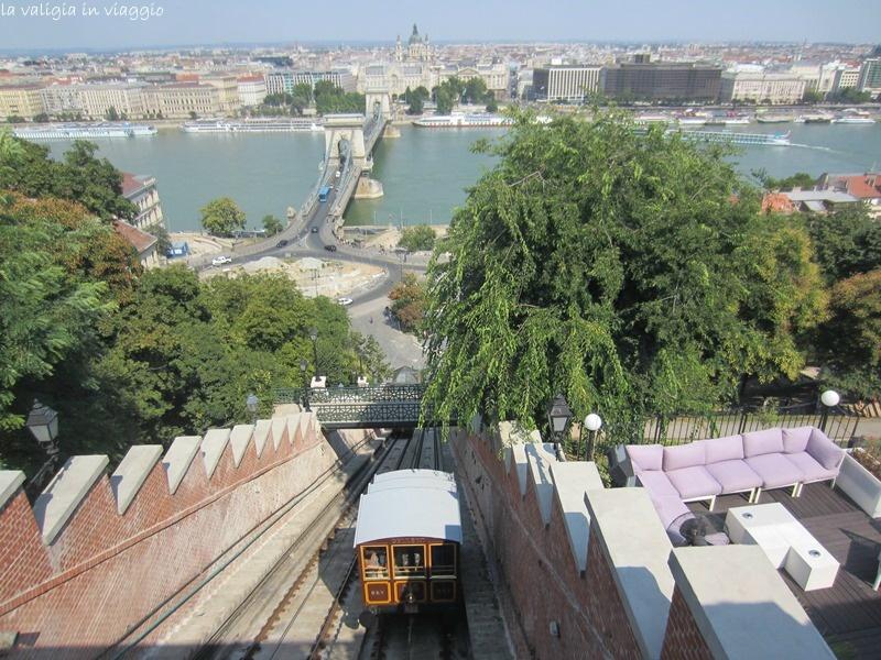 Vista sul Ponte delle Catene