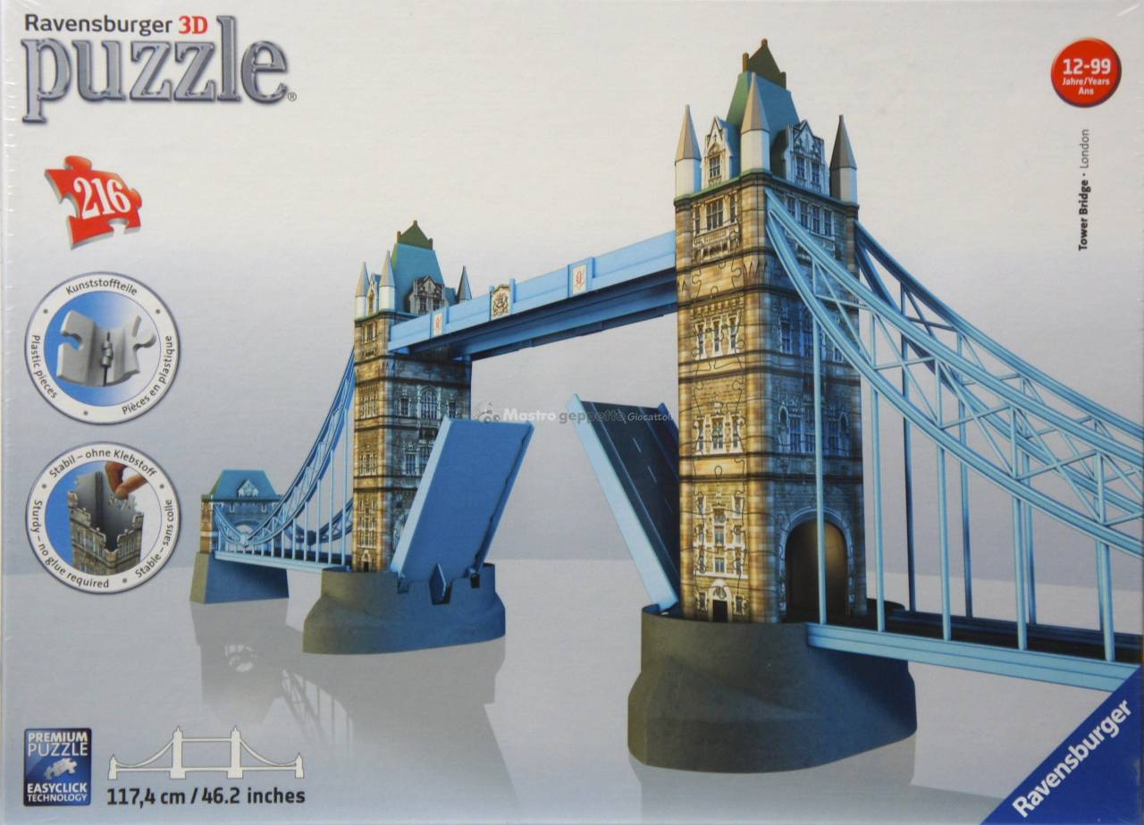 Puzzle_3D_Tower_Bridge_Londra_Ravensburger_www_mastrogeppettogiocattoli_it