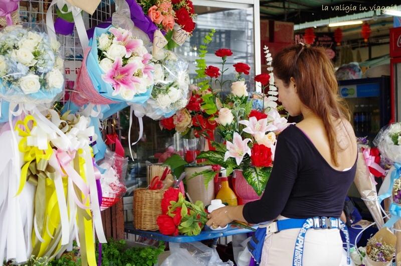 Mercato dei fiori, Bangkok
