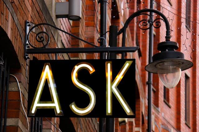 Chiedere informazioni