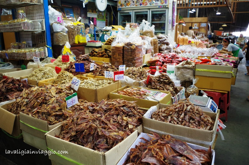 Mercato del pesce, Bangkok
