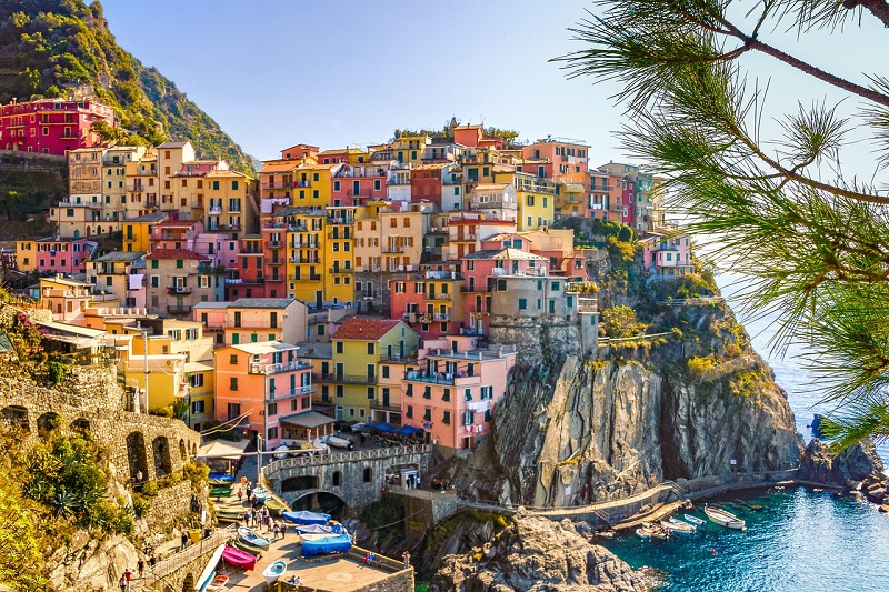 itinerario di viaggio in Italia